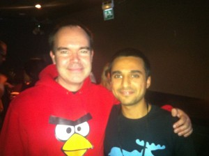 Pejman and CMO of rovio